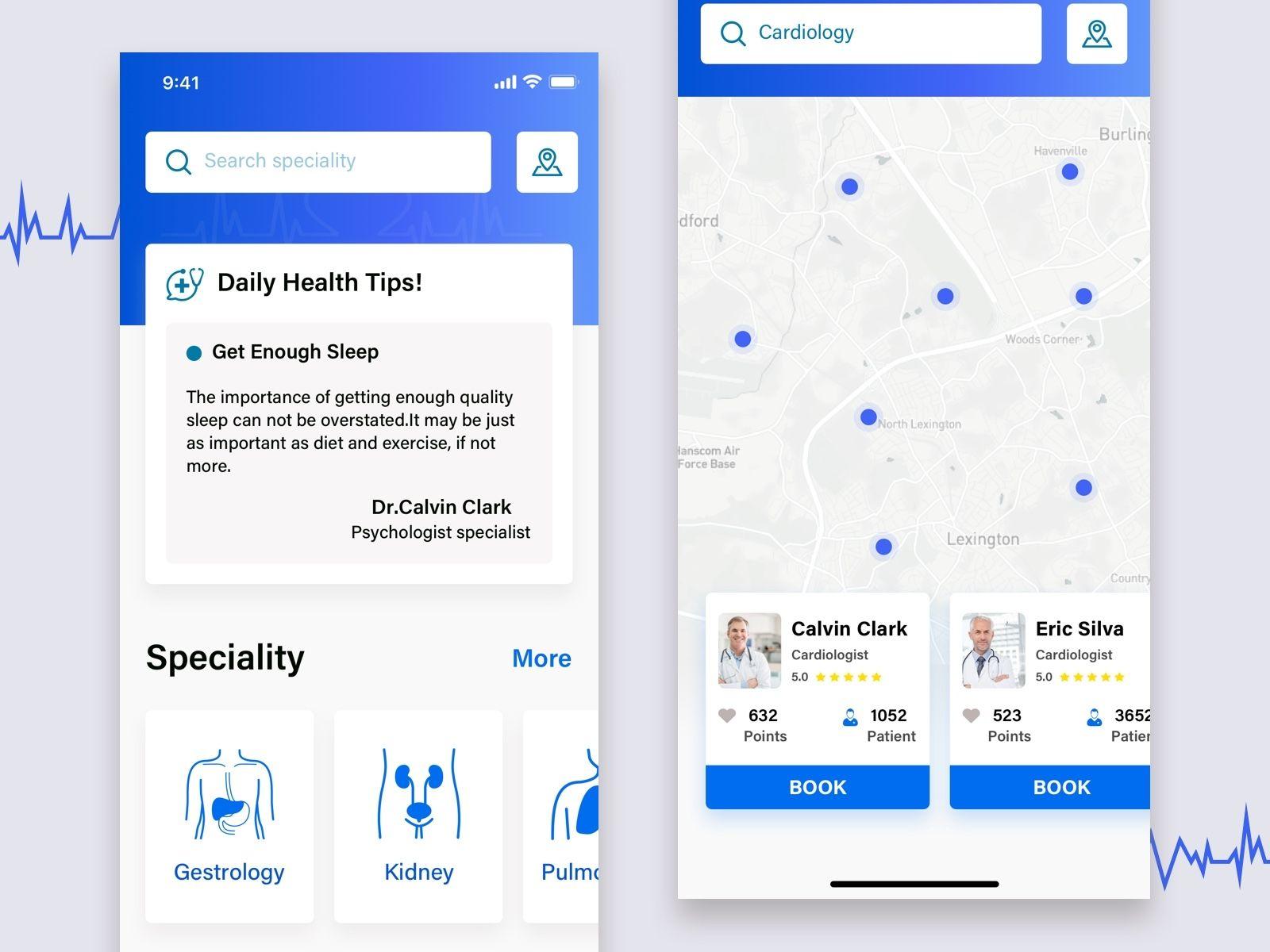 Medical health care app