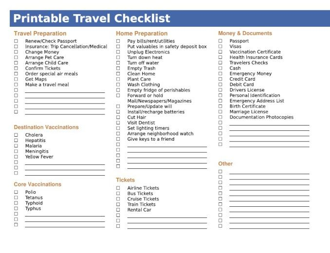 travel packing list template stationary templates pinterest