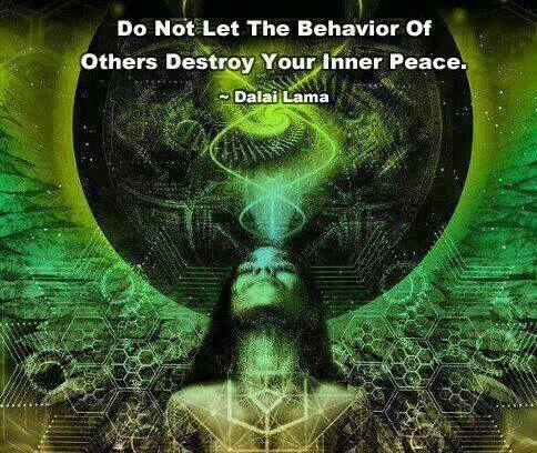 Inner Peace | Peace, Zen meditation, Dalai lama