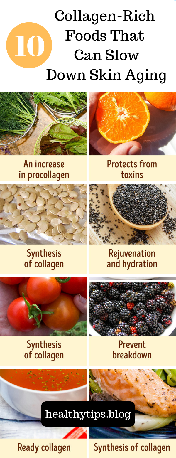 10 Collagen Rich Foods That Can Slow Down Skin Aging Collagen Rich Foods Anti Aging Skin Products Aging Skin Care