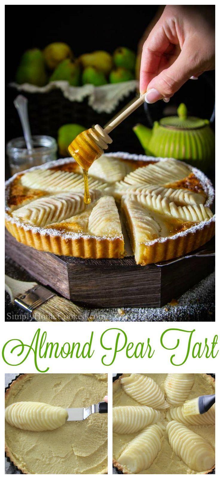 Photo of Pear Tart Recipe with Frangipane