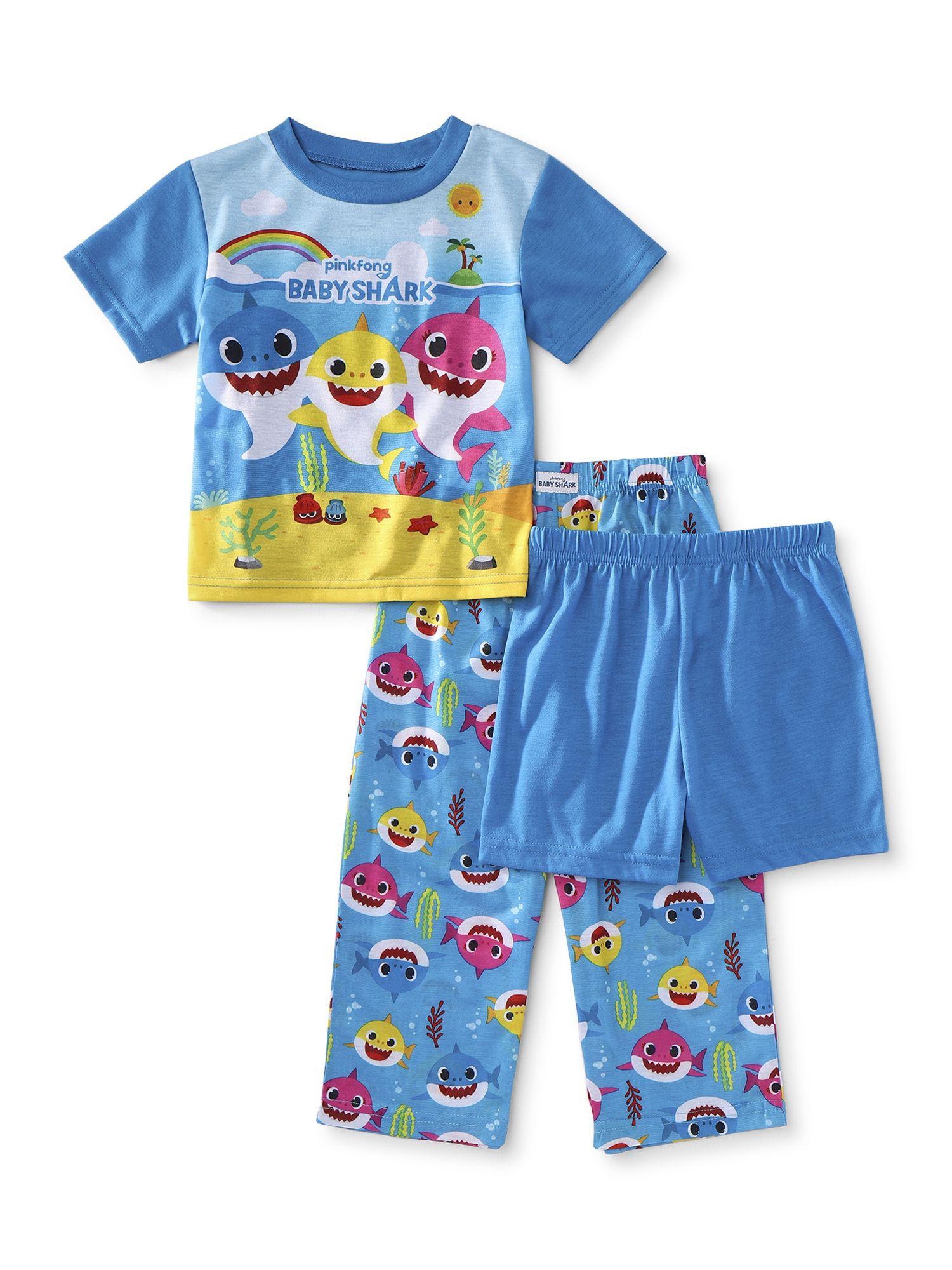 Clothing in 2020 Boy shorts, Toddler boys, Baby shark