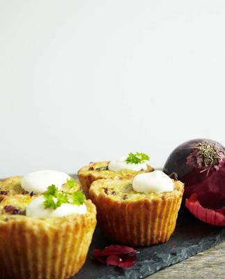 Zwiebelkuchen Muffins LAKTOSEFREI *Hummelsüß*