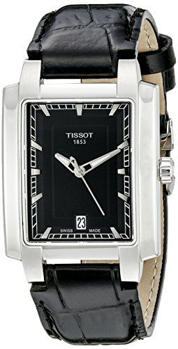 Tissot Womens T0613101605100 Analog Display Quartz Black Watch * Want to know more on the watch, click on the image.