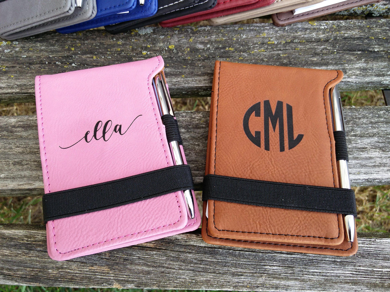 Customized Notebook. Leather. Laser Engraved. Wedding, Men ...