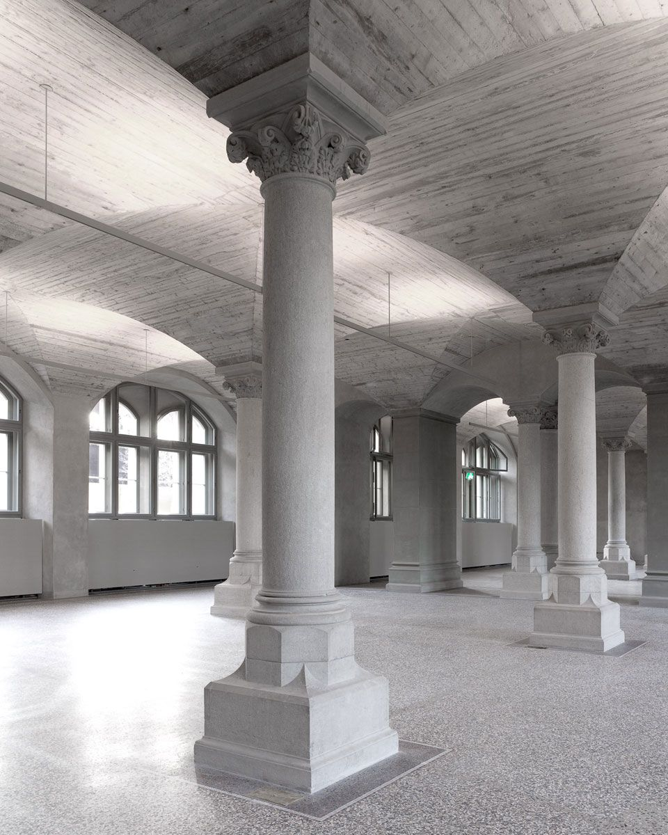 Christ Gantenbein Renovation Of The Swiss National Museum  # Muebles Zurich San Luis Potosi