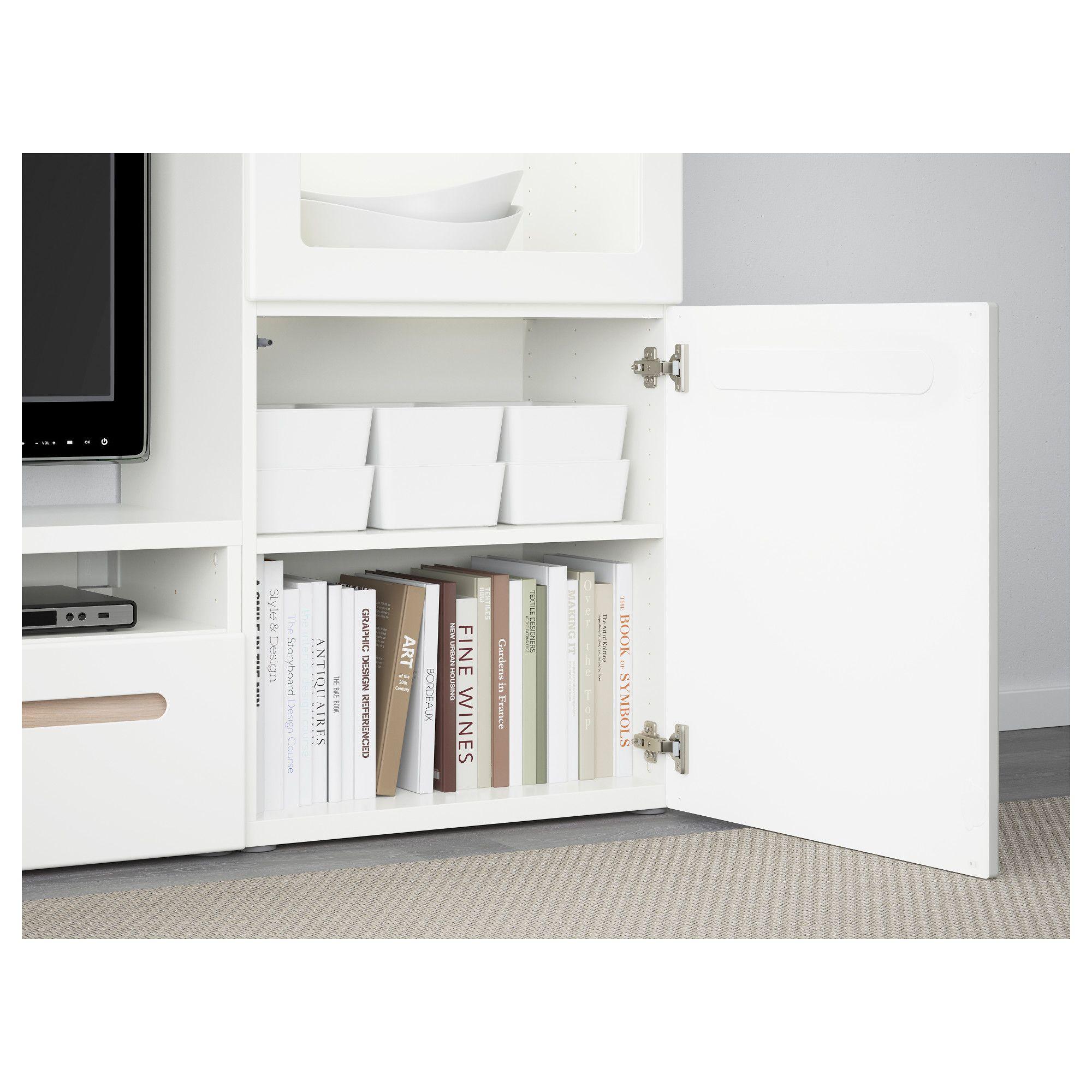 Ikea kuggis box with lid white oficina pinterest - Armarios oficina ikea ...