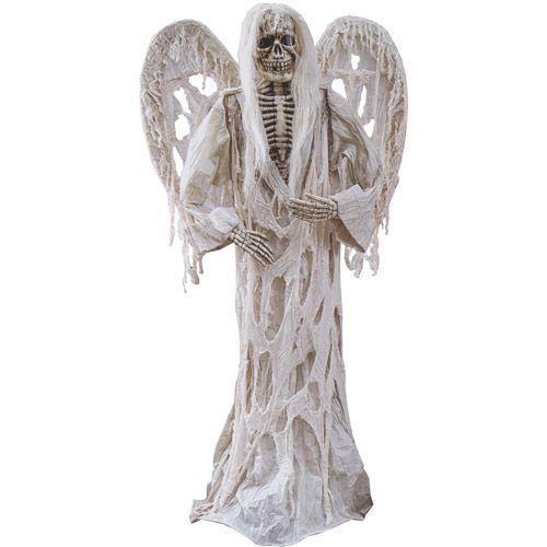 Fun World Gauze Demon with Wings Halloween  Walmart All - halloween decorations at walmart