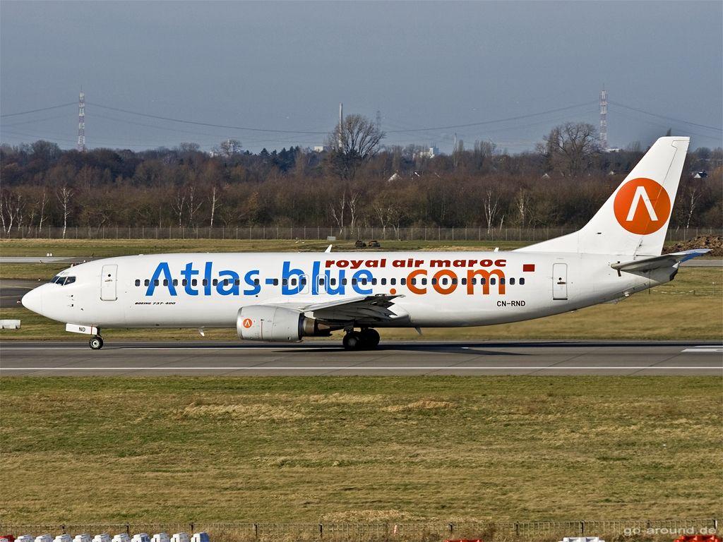 airliner special paint  | ... 400 atlas blue royal air maroc ram bewertung kategorie special paint