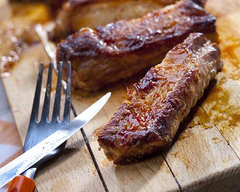 Honey Roasted Spareribs I Like Sweet Maybe Add Crushed Garlic I Miss The Honey Garlic Ribs I Used Roaster Recipes Roaster Oven Recipes Ribs In Roaster Oven