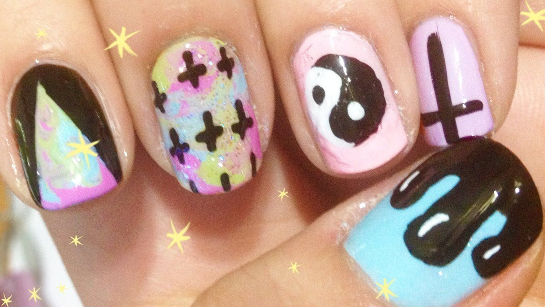hipster nails pinterest - photo #12