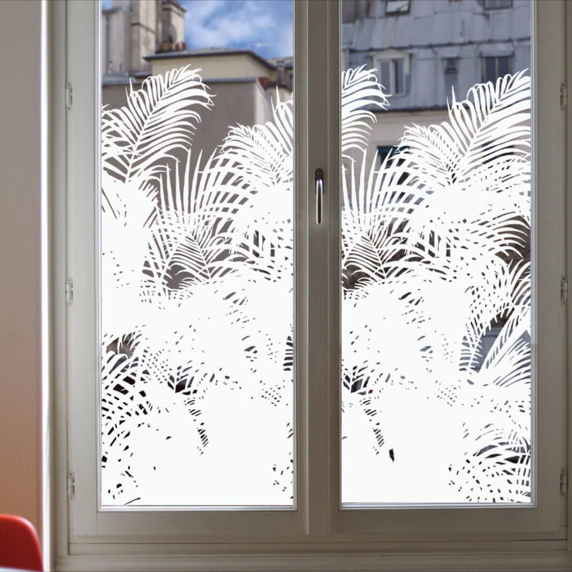 Film Adhesif Vitrage Avec Images Occultant Fenetre Deco Fenetre Film Fenetre Anti Regard