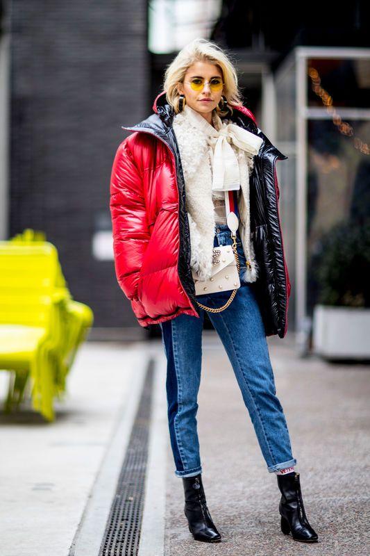 Street Fashion New York Fashion Week Jesien Zima 2017 2018 Cool Street Fashion New York Fashion Week Street Style Fashion Week Street Style