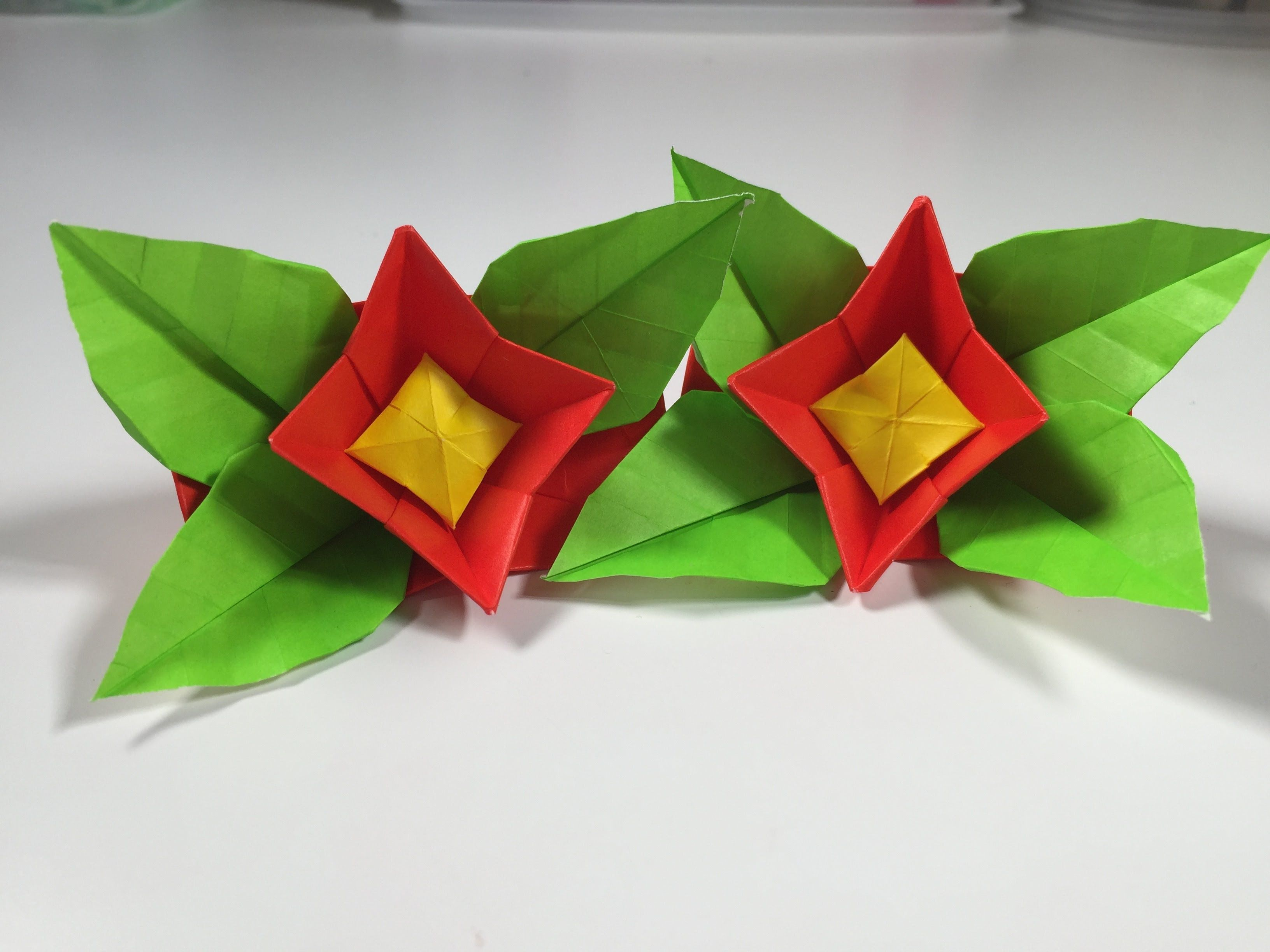 How To Origami Flower I Love Origami 2 Pinterest Origami