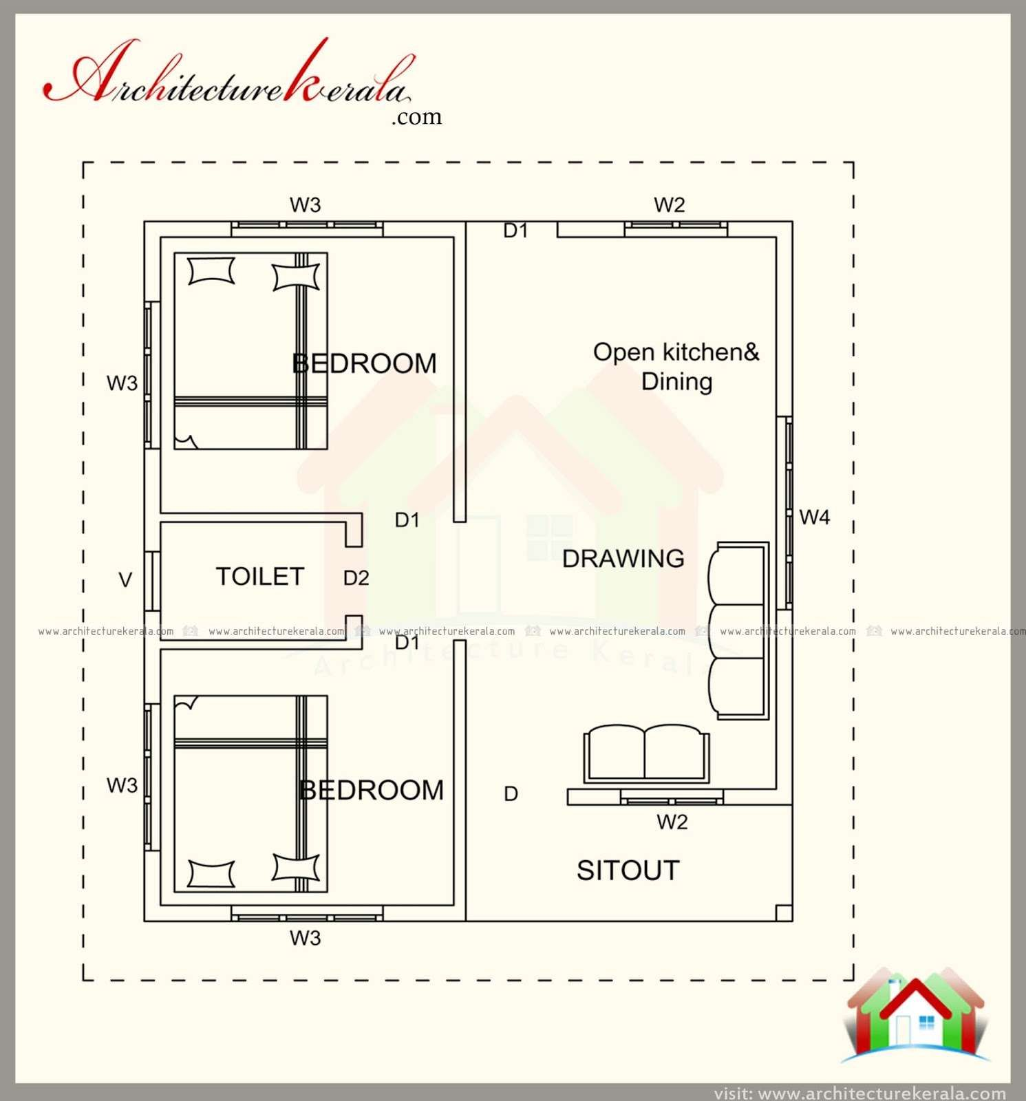 500 Sq Ft Duplex House Plans Indian Style Duplex House Plans Floor Plan Design House Plans