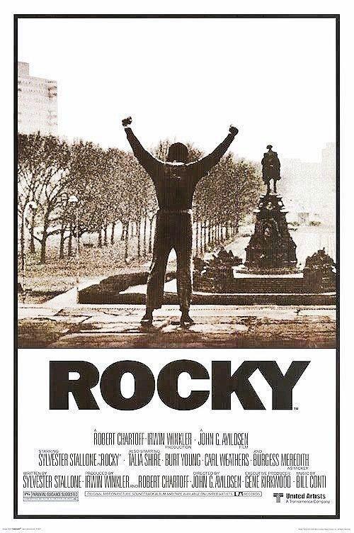 Rocky Vintage Movie Poster Rocky Poster Classic Movie Posters Movie Posters Vintage