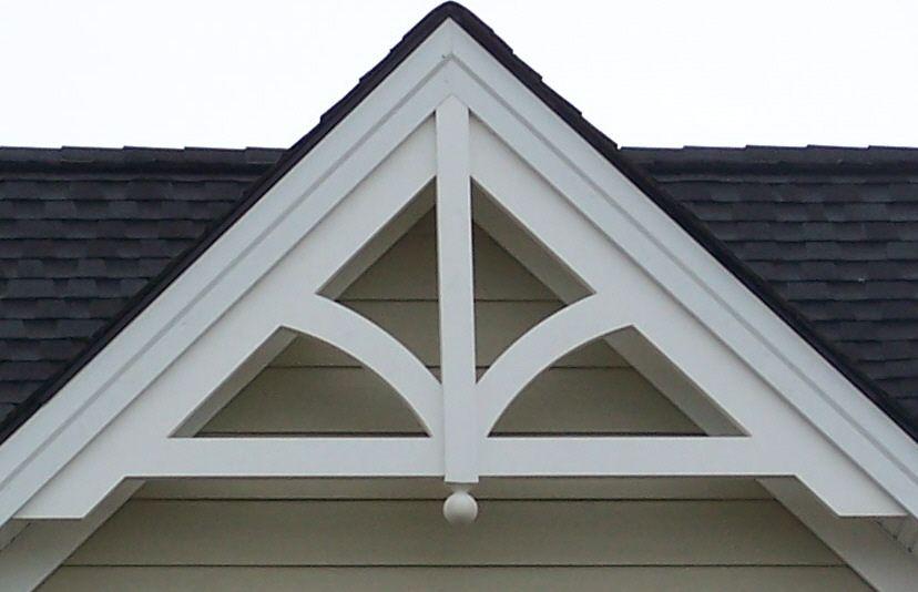 Gable Pediment 201 House Trim Cottage Exterior House Exterior