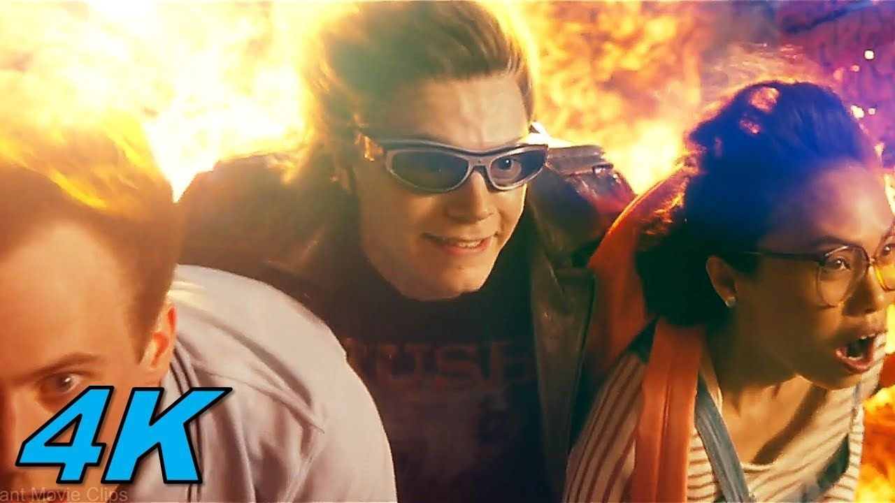 Quicksilver Scene X Men Apocalypse 2016 Movie Clip 4k Movie Clip X Men Apocalypse Scenes