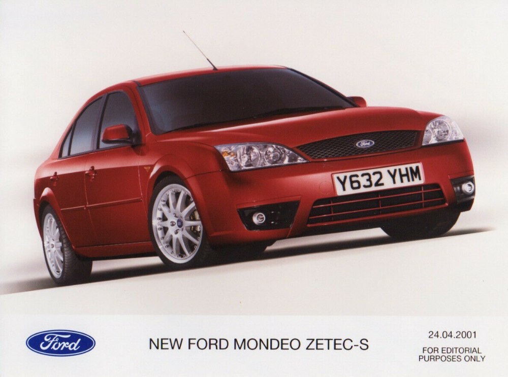 Ford Mondeo Mk3 Zetec S Saloon Period Press Photograph 2001 Ebay Ford Mondeo Ford Contour Ford