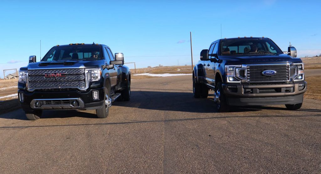 2020 Ford F 350 Shows Gmc Sierra 3500 A Thing Or Two In Diesel