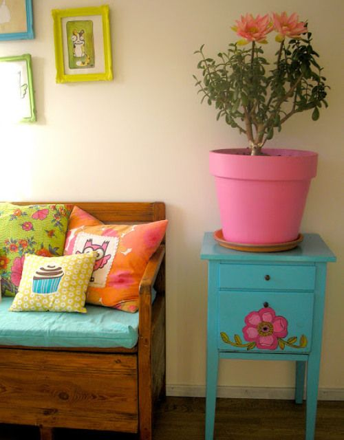Super Bright Colours and Kitschy Cute Home Decor from Pink Friday | Heart Handmade uk