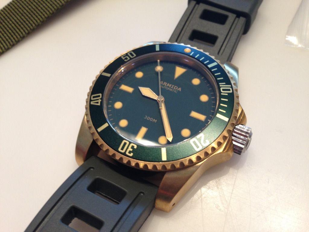 Armida A8 #armida #armidawatches #armidawatch #diverwatches #diverwatch  #bronzewatches