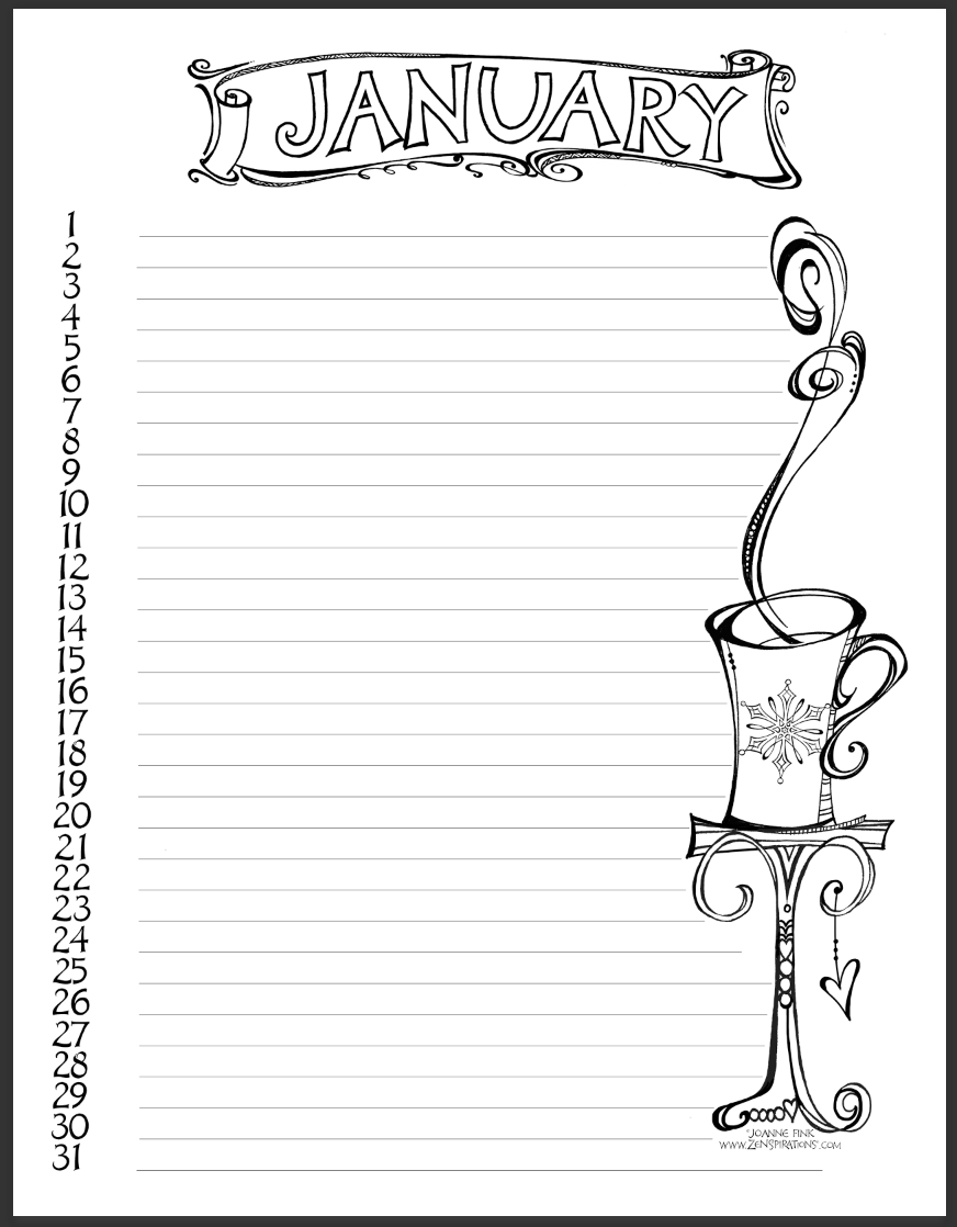 10 ways to stay zenspired in 2017 zenspirations 39 create for Stay out coloring pages