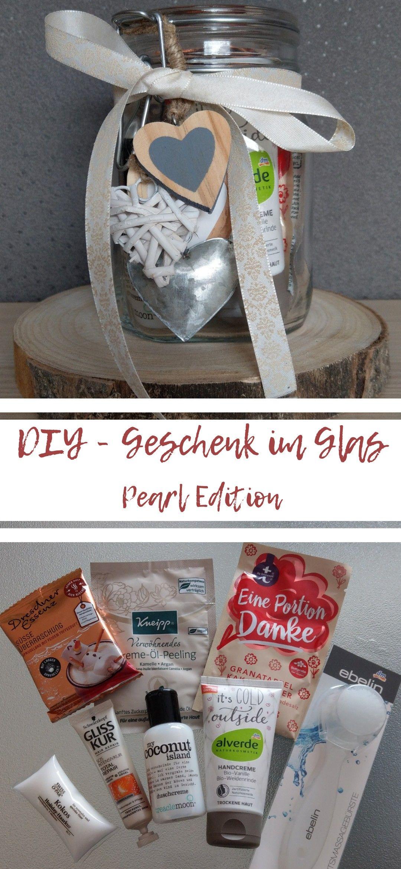 DIY Geschenk im Glas