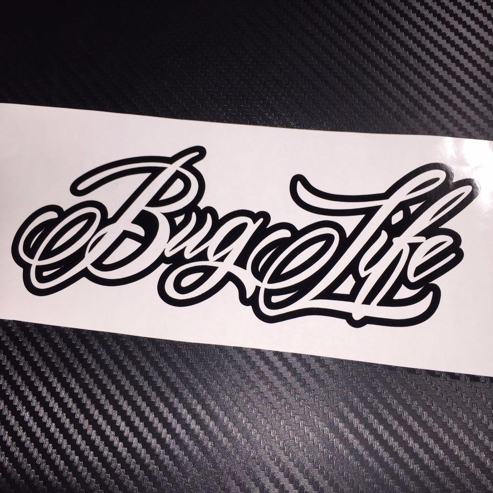 Gloss Black Bug Life Car Sticker Decal Vdub Vw Beetle Aircooled Ritrama Car Stickers Life Car Vw Beetles [ 1000 x 1000 Pixel ]