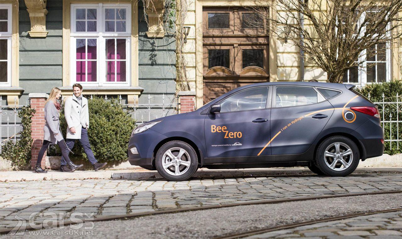 Hyundai ix35 Hydrogen Fuel Call cars in world's FIRST