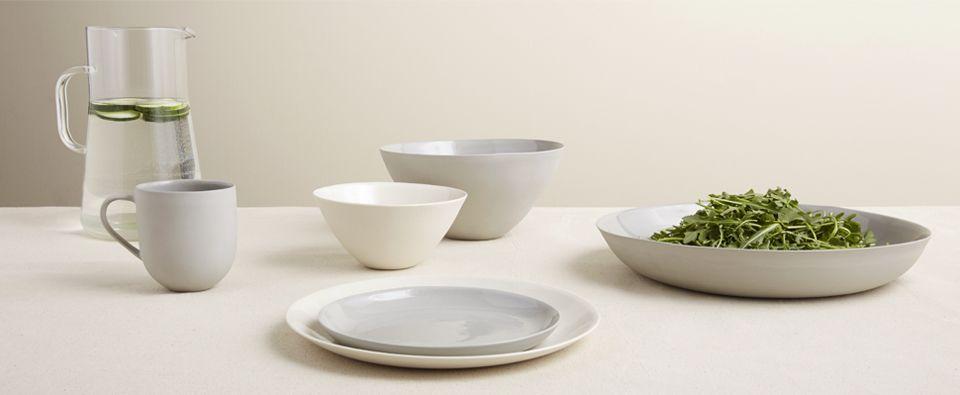 Mud Australia Large Serving Bowl (White) - Kaufmann Mercantile & Mud Australia Large Serving Bowl (White) - Kaufmann Mercantile ...