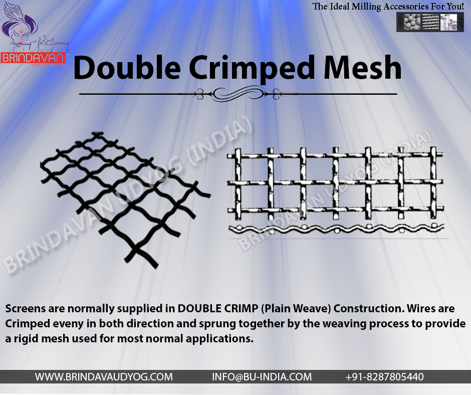 Double #Crimped #Wire #Mesh #Manufacturer #Supplier and #Exporter ...