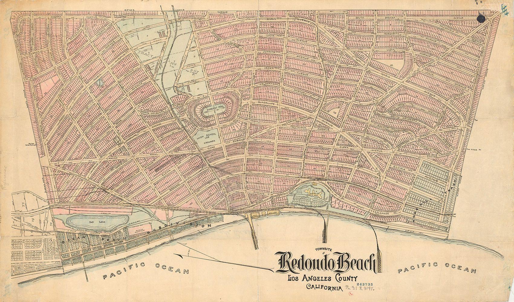 Citydig Redondo S Brief Stint As The Port Of Los Angeles Los