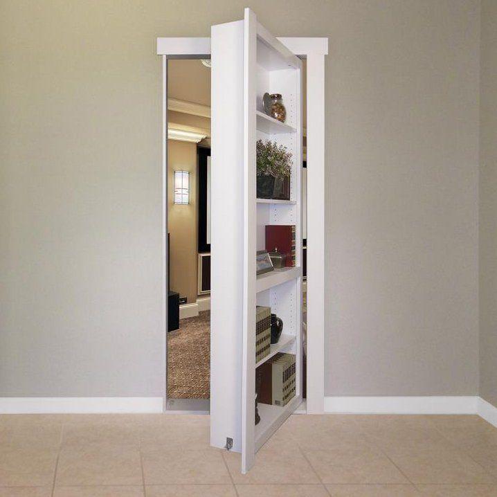 Hidden Door Bookshelf Hidden Door Bookcase Murphy Door Bookcase Door
