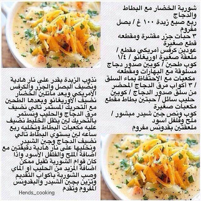 Pin By Tahani Al Sheikh Moh D On وصفات شوربات Food Fruit Soup