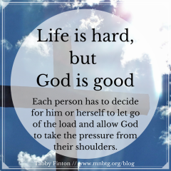 Life Is Hard But God Is Good Bridging The Gap Life Is Hard God Is Good Gods Promises Quotes