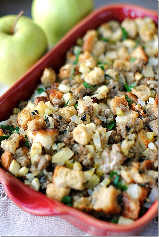 Sausage, Apple & Sage Stuffing, only 4 WW points