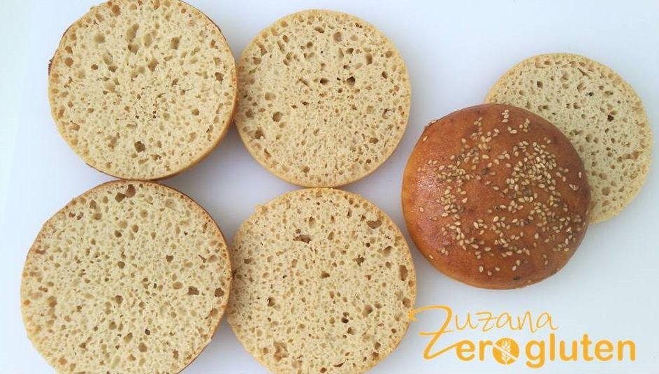 Pan De Hamburguesa Con El Mix Hacendado Zuzana Zero Gluten Pan De Hamburguesa Hamburguesas Pan