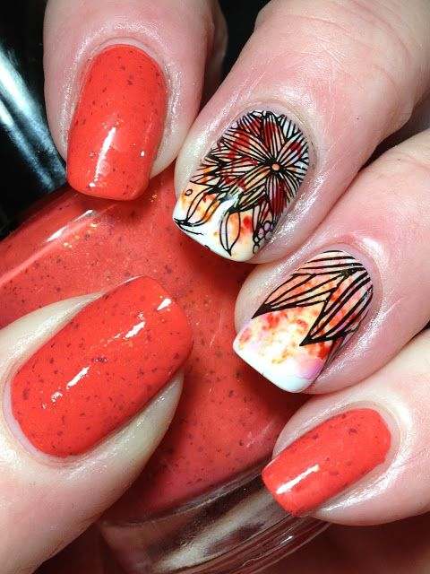 Dabbling with Sharpie Markers (Canadian Nail Fanatic ...