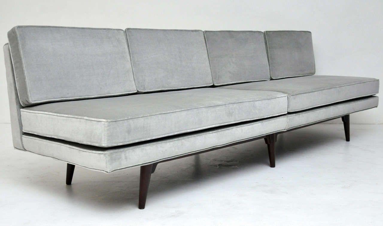 Sunday 65 Armless Sofa Armless Sofa Modern Sofa Sofa