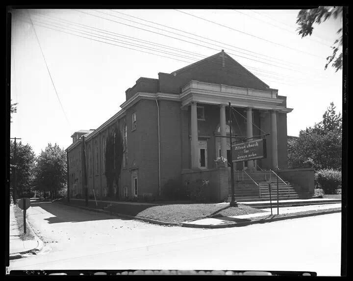 1946 porter memorial church lexington kentucky historic