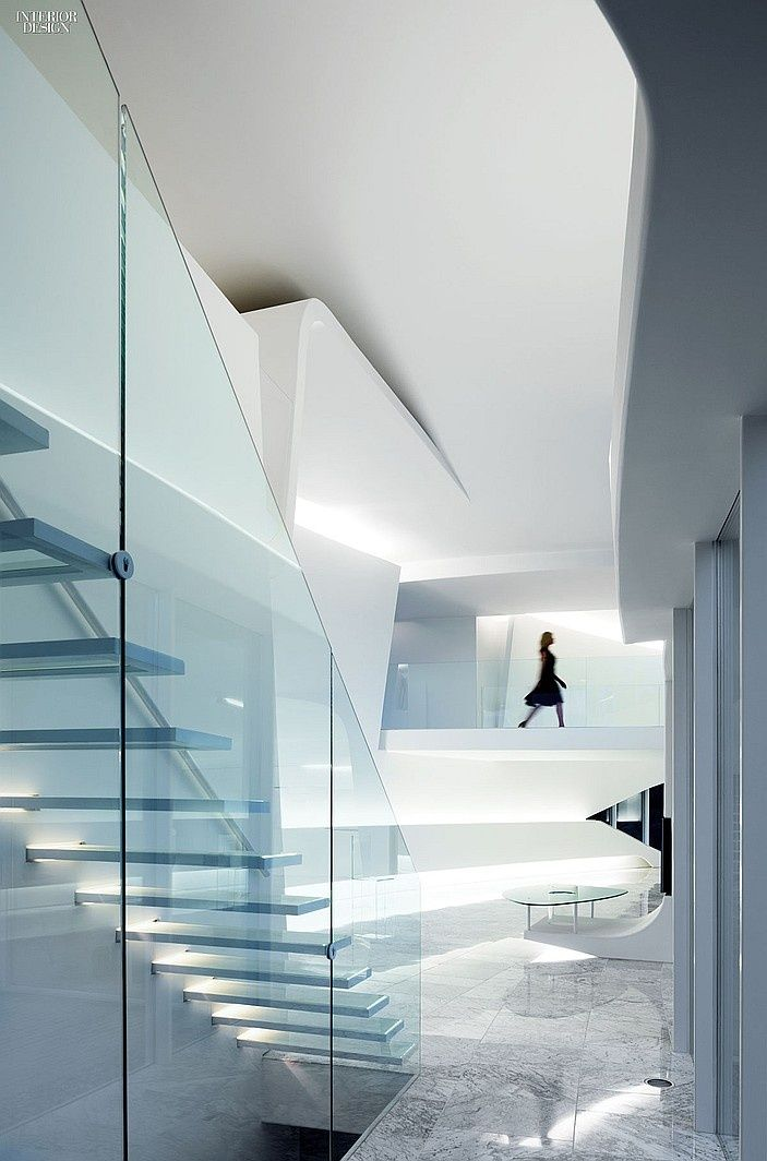 Best 11 Awe Inspiring Staircases Glass Stairs Interior 400 x 300