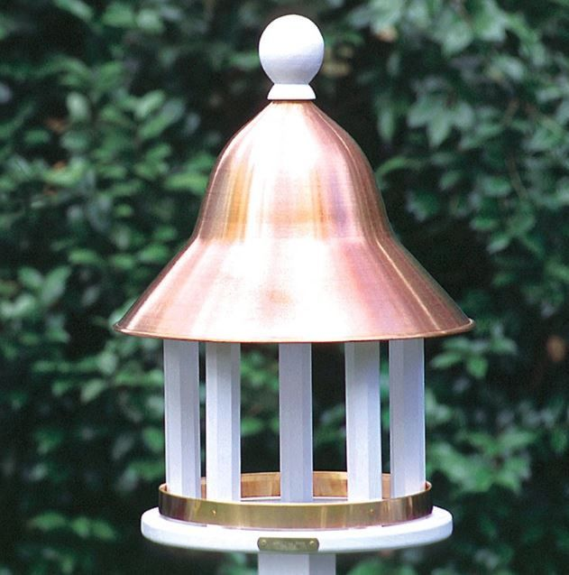Good Directions Lazy Hill Farm Designs Bell Bird Feeder With Polished Copper Roof Bird Feeders Garden Bird Feeders Birdhouses Bird Feeders