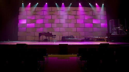 sleek chruch stage design ideas - Concert Stage Design Ideas