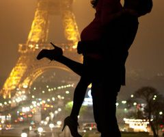 one night in paris with someone you love would be lovely