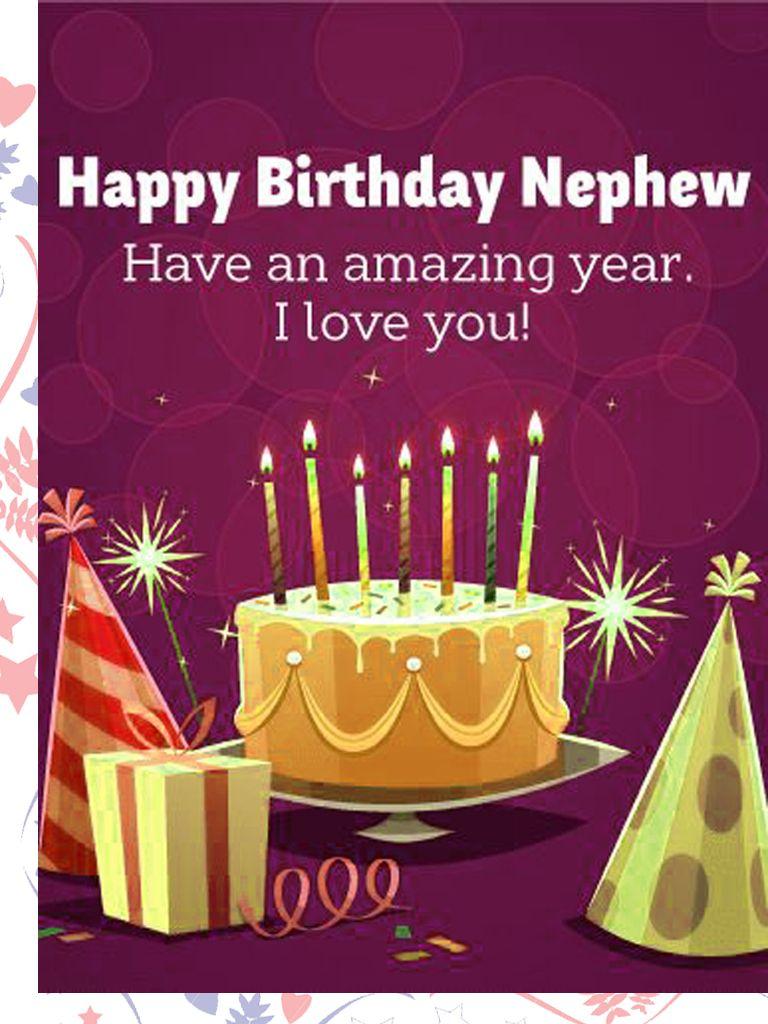 Birthday Cakes For Nephew Birthday Wishes Happy Birthday Nephew
