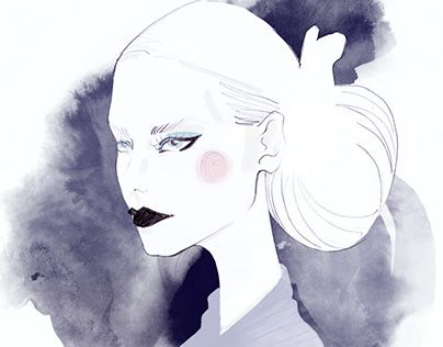 """Check out new work on my @Behance portfolio: """"Fashion sketch"""" http://be.net/gallery/43216639/Fashion-sketch"""
