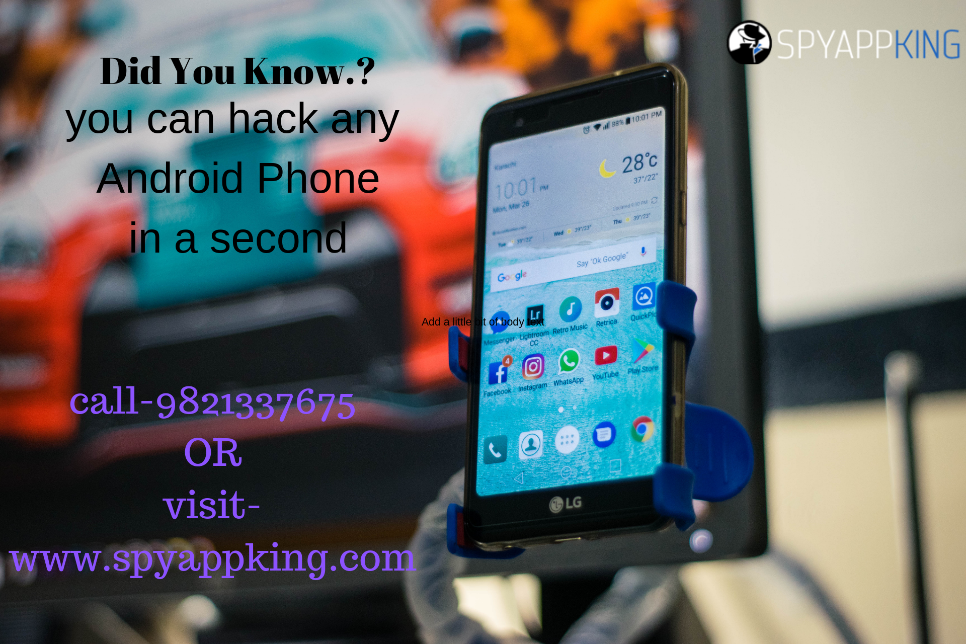 Mobile Spy App For Android Hacking apps for android