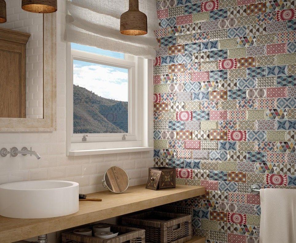Idéal comme carrelage mural salle de bains ou cuisine, le carrelage - peindre du carrelage mural de cuisine
