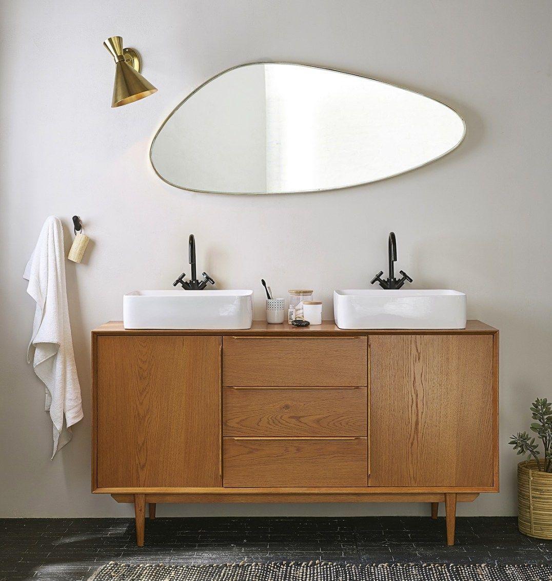 meuble de salle de bain style vintage